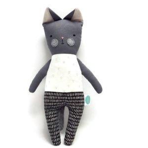 Handmade Cat Cloth Toy