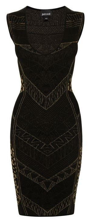 Just Cavalli Little Black Dress #lbd