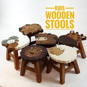 Kids Wooden Stools