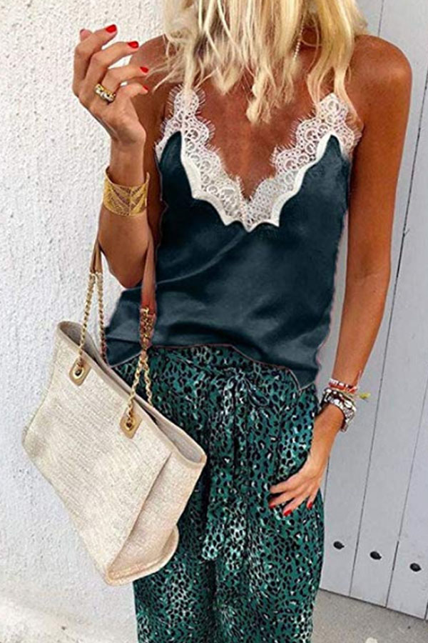 Sprimg Lace Casual Camis