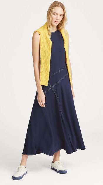 Spring Casual Midi Dress by Ralph Lauren