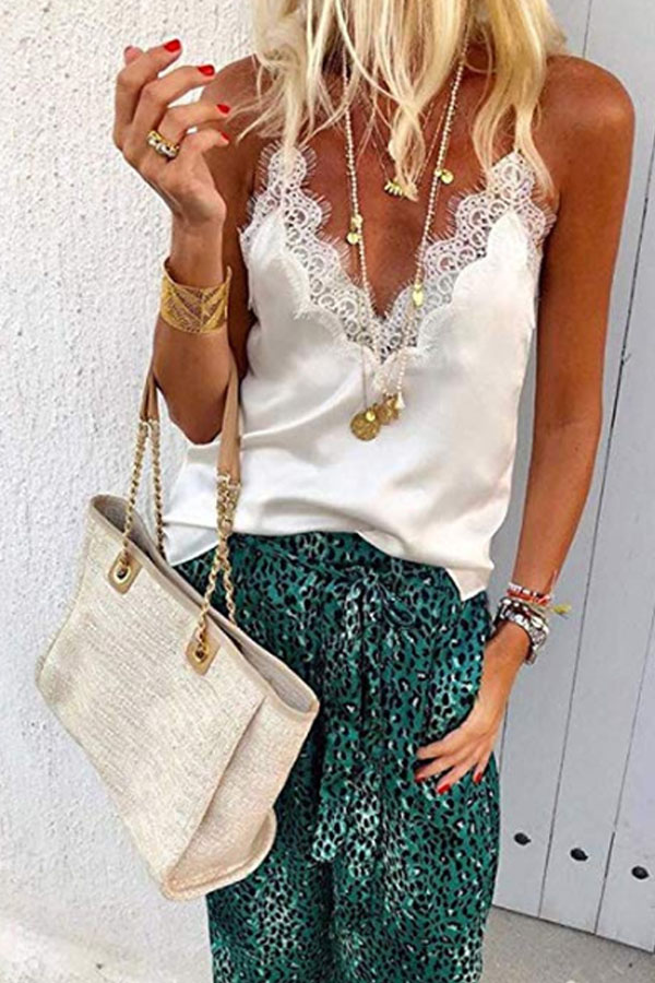 Summer Lace Casual Camis