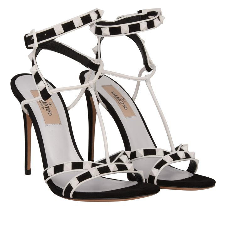 This is an Invest !! Studded Heeled Sandals from Valentino