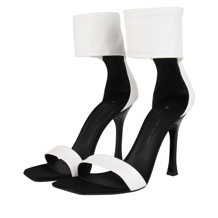 White Heeled Sandals by Giuseppe Zanotti