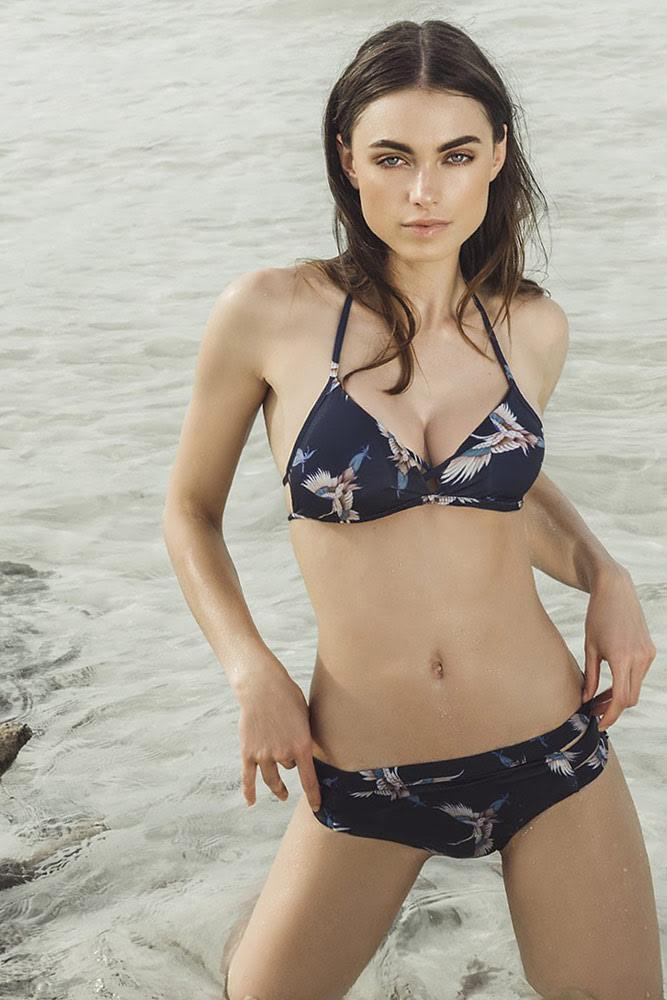 Bikini Cutout Swim Bottom