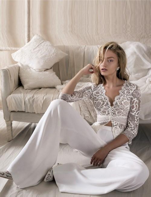 Nomadic Style Girl - wedding jumpsuit