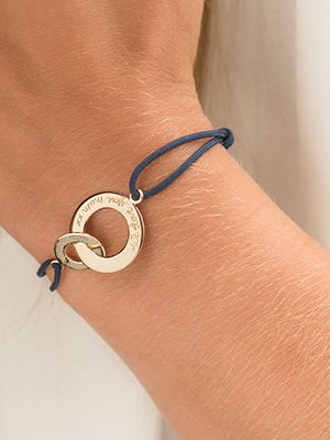 Personalized Intertwined Bracelet
