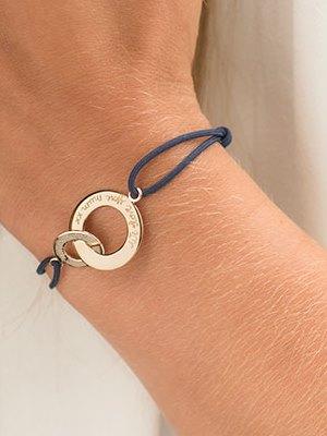Personalized Intertwined Bracelet