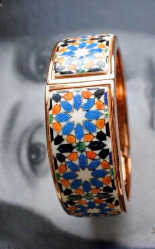 Portugal tile bracelet