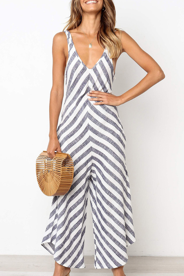 Hippy Chic Look - Lovely Loose Jumpsuit