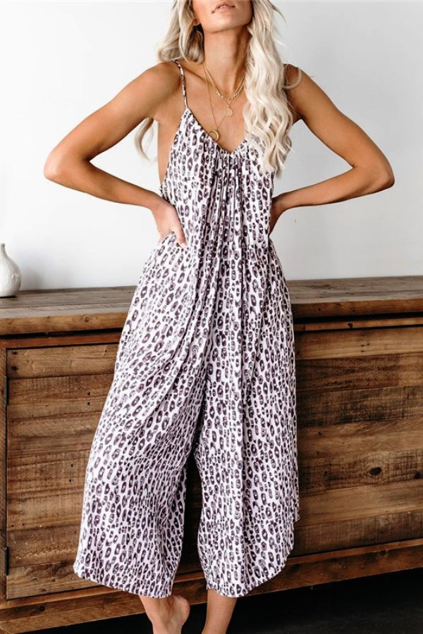 Lovely HippyChic Loose Printed Jumpsuit