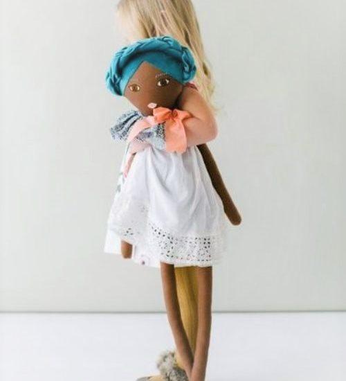 Nomadic Style Girl - lovely baby toys