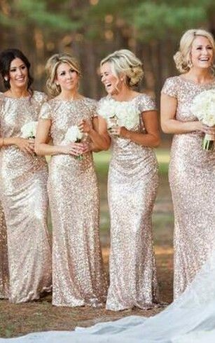 bridesmaid dress with sequins ... a little vintage style but very trend ... i love this glamorous style!