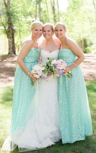 strapless bridesmaid dresses with sequins
