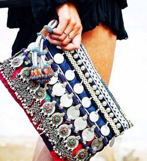 Boho Clutch Bags