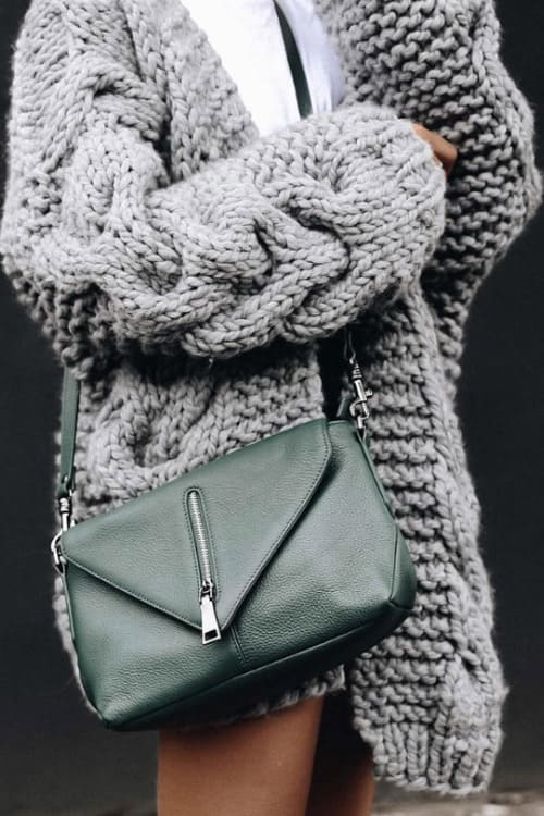 Sweet Brocade Bell Sleeve Sweater