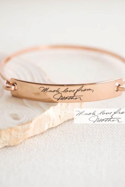Custom Handwriting Jewelry Gandma Gift
