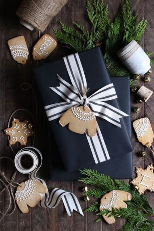 ideas about Christmas gift wrapping