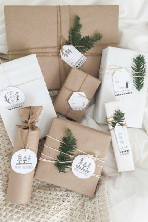 try one of these different gift wrapping ideas