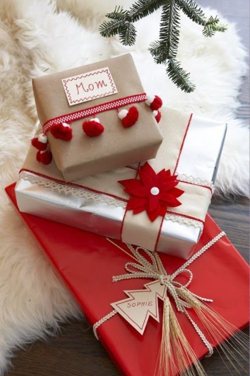 Festive Gift Wrapping Ideas