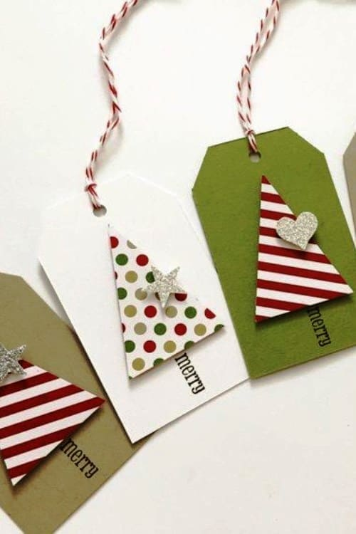 Creative handmade Christmas Gift Cards Ideas and tag ideas for Christmas