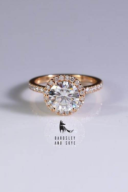 Beautiful Moissanite Engagement Ring!