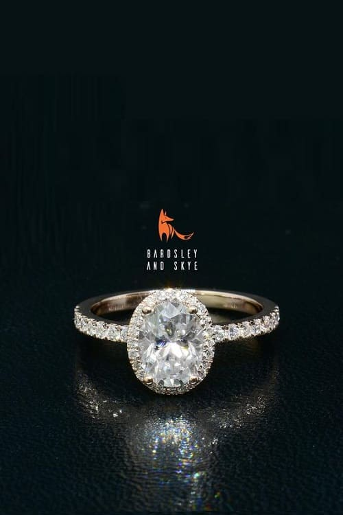 Gorgeous Moissanite Engagement Ring!