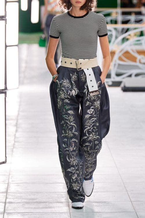 High waist Wide Pants Spring Summer 2021 Trend